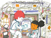 Igor Souky conquête l'espace Sigrid Baffert illustré Sandrine Bonini