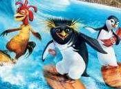 pingouins savent aussi surfer