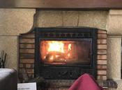 Soir d'automne, cheminée Black Licorne