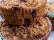 Muffins l'avoine, citrouille brisures chocolat