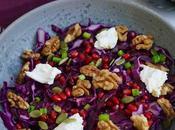 Salade colorée chou rouge