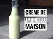 Crème limoncello maison