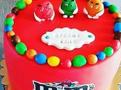 Gâteau thème M&MS
