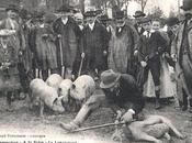 Petit métier disparu: langueyeur (vers 1915)