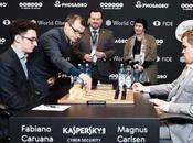 Partie Championnat Monde d'échecs 2018