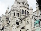 Gros plan Basilique Sacré Coeur Montmartre