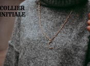 Tendance: collier initiales