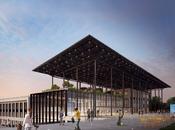 Campus européen numérique vitrine digitale, verte intégrée