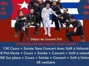 Concert exceptionnel Conquistadores Salsa soirée Timba Paris Dimanche Décembre 2018 péniche Concorde Atlantique