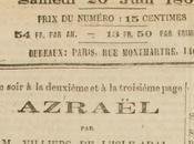 juin 1869, Villiers l'Isle-Adam dédiait Azrael Richard Wagner