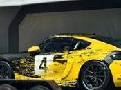 Porsche Cayman Clubsport: piste