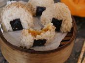 Onigiri courge-sésame-prunes