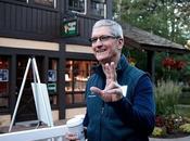 patron d'Apple réveille avant matin, routine matinale pourrait vous surprendre