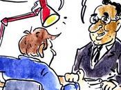 Caricature Alexandre Benalla