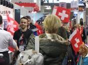 Suisse fait show dans allées Sirha