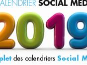 Calendrier social média 2019
