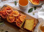Gâteau l'orange, huile d'olive safran