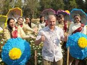 février 2019 Udonthani Visite village fleurs Baan Huai Samran