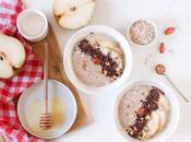Porridge poires chocolat, recette facile