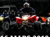 Rando semi-nocturne moto quad Moto Quad d'Albret (47), Mézin mars 2019