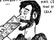 Français quatre boit trop d'alcool