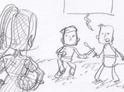L'art passionant mais difficile Story Board