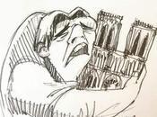 Notre Dame Paris incendiée