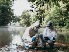 cours d'eaux européens pollués pesticides médicaments vétérinaires