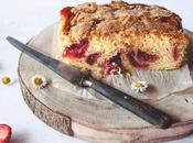 Gâteau fraises facile Martha Stewart