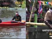 Samut Songkhram: Hahay Sports, navigation boxe maritime l'aveugle