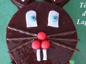 Gâteau Tête Lapin (gâteau yaourt ganache chocolat)