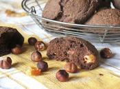 Petits pains cacao, orange confite noisettes