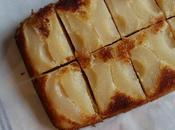 Gâteau poires