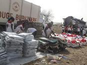 Burkina Faso déplacés violences reçoivent aide alimentaire début période soudure