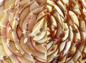 Tarte feuilletée pomme-poire-crumble