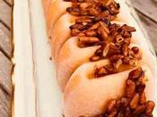 Glace abricot lavande pignons caramélisés