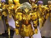 saga Myth Cloth légendaire gamme figurines Saint Seiya Bandai