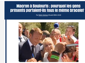 Macron erre dans villages Potemkine #Boulouris