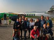 vole large l'Himalaya, visite l'orphelinat reste dans monastère Novembre 2018 Katmandou