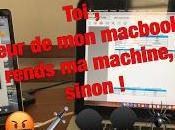 Avis c... volé hier macbook, entre 12h35 dans restau Clignancourt Paris Rapporte matin sinon