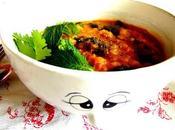 Soupe marocaine chou-fleur, lentilles, patate douce épinards