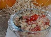 Salade pates marine