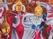 Thaïlande representation Bouddha Ultraman adjugée pour 18.000