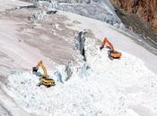 Extension domaines skiables mépris protection glaciers