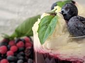 Crème mascarpone Compotée fruits rouges.