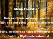 Menu Forestier