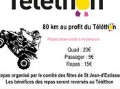 Rando Quad Téléthon comité fêtes Jean d'Estissac (24), novembre 2019