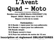 Rando Quad-moto l'Avent l'association Quad Nature Chavenat (16), décembre 2019