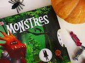 grand livre pop-up Monstres d'Anne-Sophie Baumann Dankerleroux