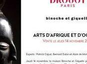 Vente Arts d'Afrique d'Océanie (Binoche Giquello) Jeudi Novembre 2019